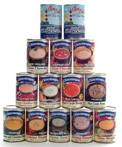 Chincoteague Seafood in Cans