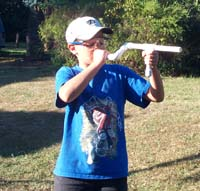 Marshmallow Gun (Site Down The Barrel For Accuracy)