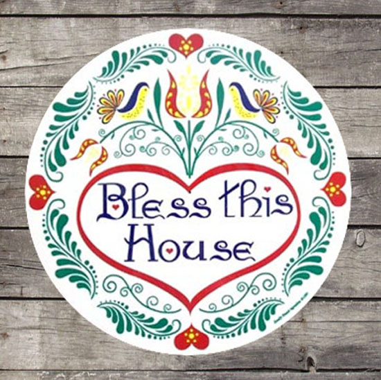 Bless This House Hex Sign